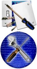 Tinker Tool & Tweak Freak Logos