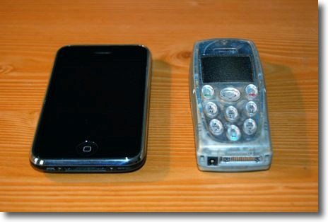 My old Phone and my iPhone