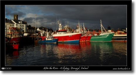 After the Rain in Killybegs Harbour