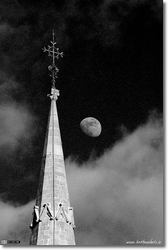 Lunar Cross (Black & White)