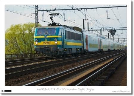 NMBS/SNCB Class 27 Electric Locomotive - Duffel, Belgium