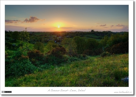 A Cavan Sunset - Tonemapped