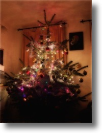 Orton Effect Christmas Tree