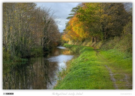 The Royal Canal - Leixlip, Ireland