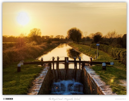 Royal Canal Sunset