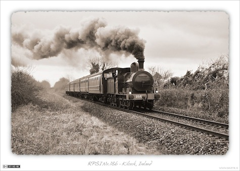 RPSI No.186 Steaming West