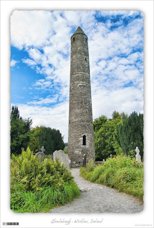 The Round Tower - Glendalough, Wicklow, Ireland