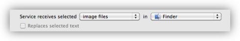 Configure Service Input