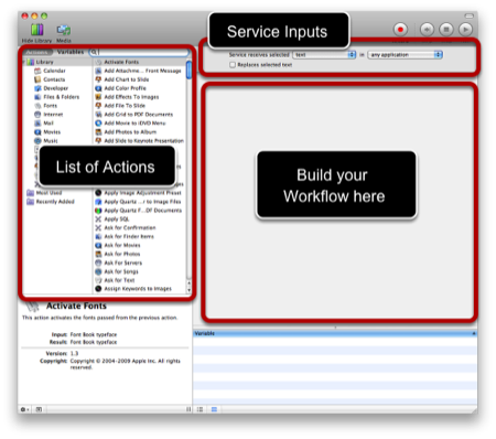 Automator + Services = Image Editing Automation Heaven