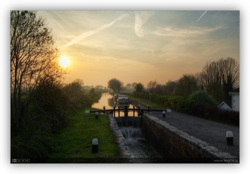 Sunset at the 14th Lock