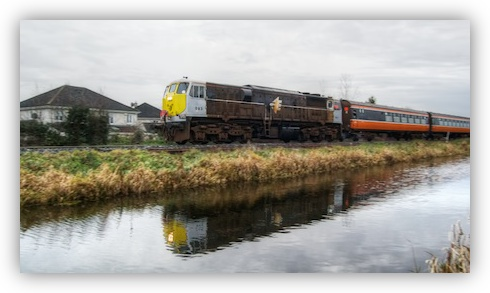 Irish Rail 071 Class Loco