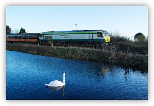 Irish Rail 201 Class Loco