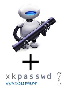 Automator + XKpasswd
