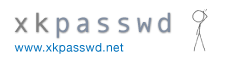 www.xkpasswd - A Secure Memorable Password Generator