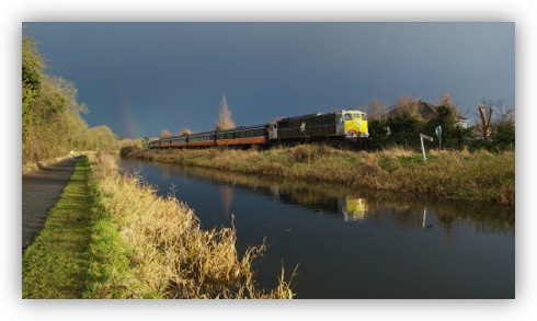 RPSI Santa Special Just East of Maynooth