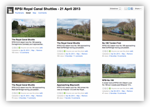 RPSI Royal Canal Shuttle Flickr Set