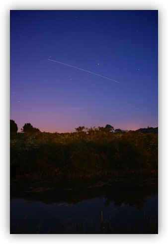 ISS Flying over the Royal Canal