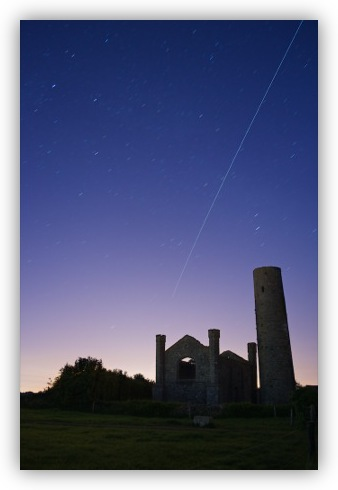 The ISS Passing over Taghadoe