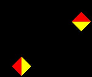 L in Semaphore
